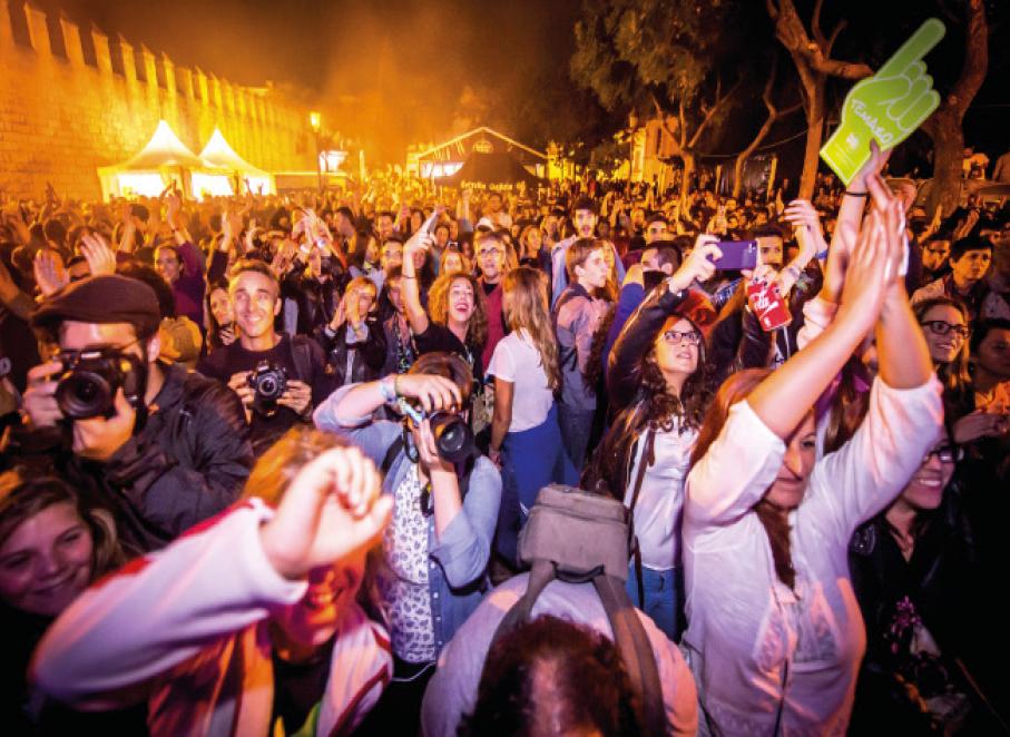 Gestión de Festivales de Música en Vivo