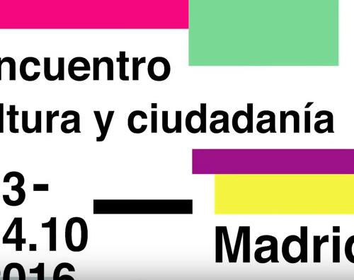 II Encuentro de Cultura y Ciudadania – 13 de Octubre 2016