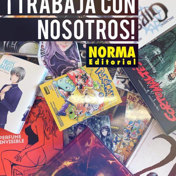 ¡Norma Editorial busca gente!
