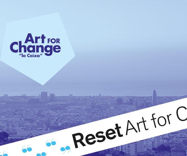 Art For Change en el Reset18