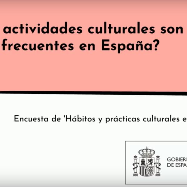 Encuesta de Hábitos y Prácticas Culturales en España 2018-2019