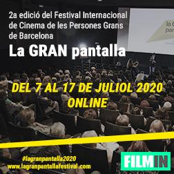 El Festival Internacional De Cine De Las Personas Mayores De Barcelona busca voluntarios